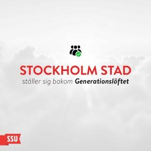 Stockholms delegation har ställt sig bakom Generationslöftet